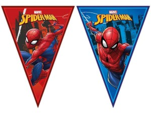 Baner girlanda flagi Spiderman 230 cm