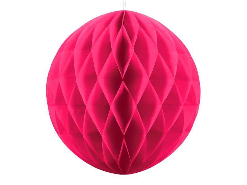 Kula plaster miodu ciemny różowy