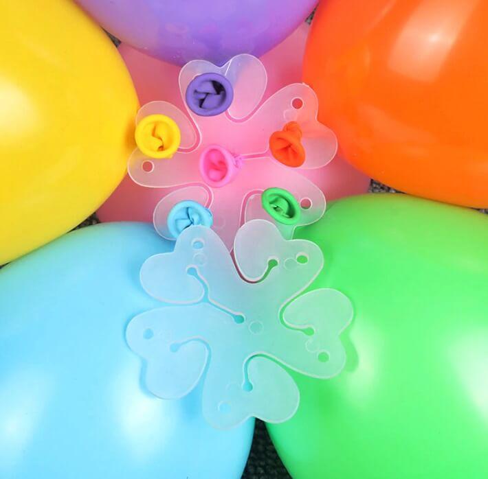Łącznik klips do kwiatka z balonów 2 szt.