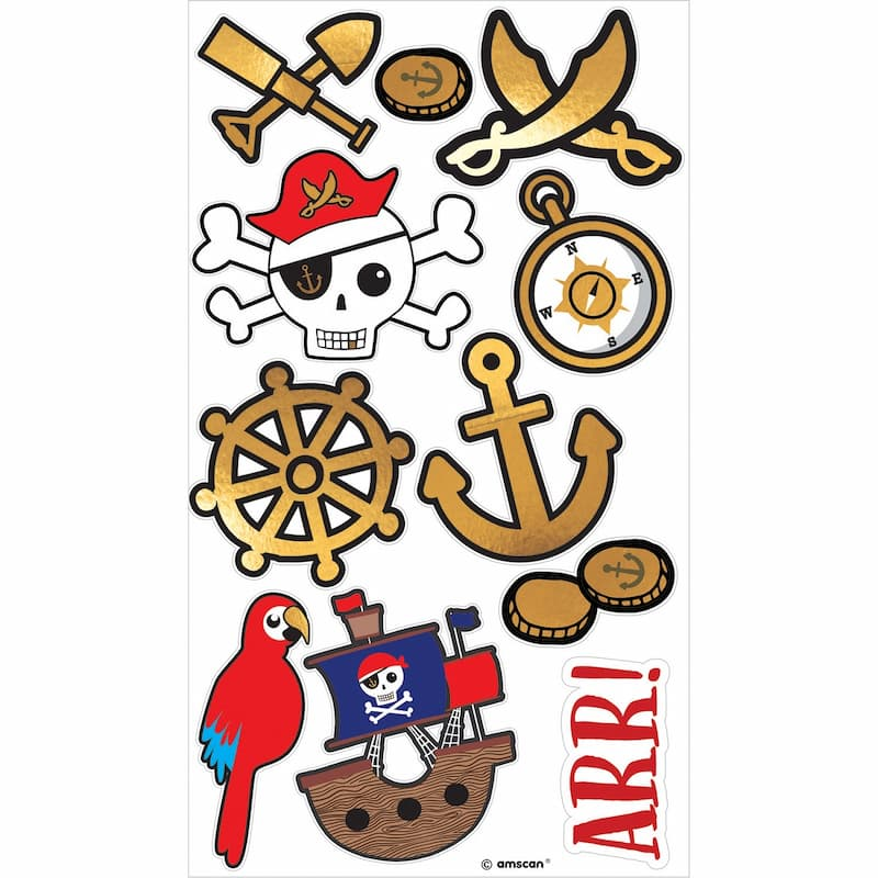 Image of Tatuaże dla dzieci piraci